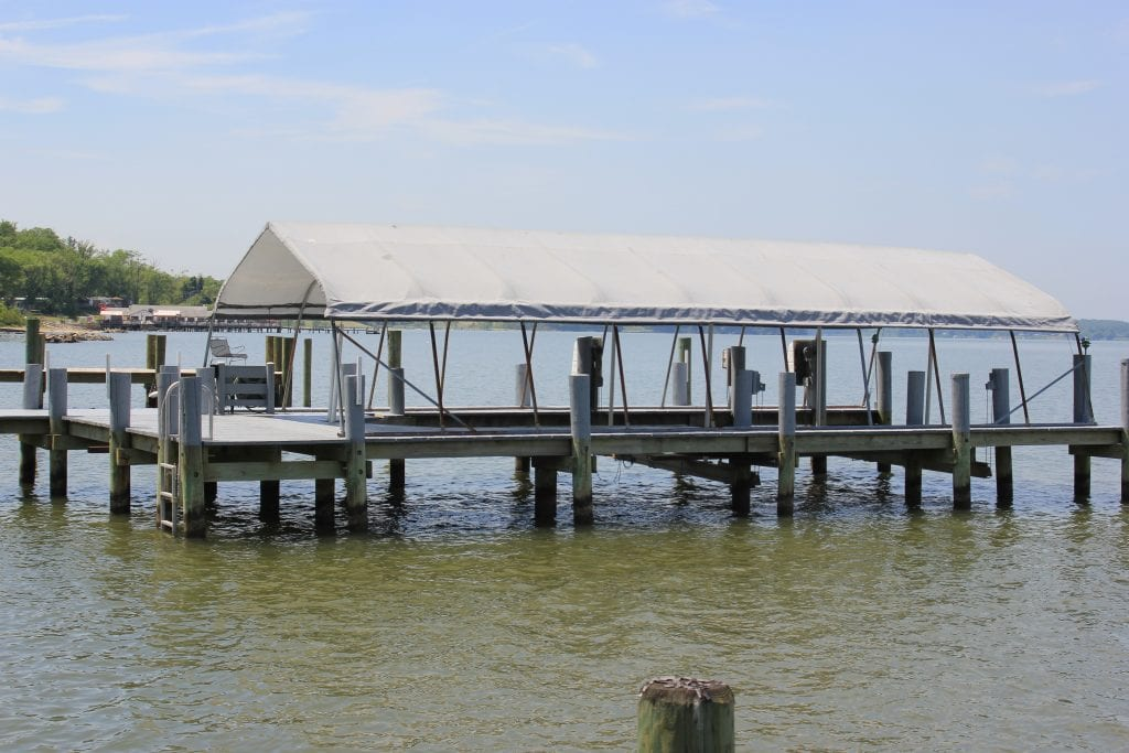 boat pontoon addition