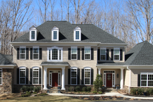 two story home exterior
