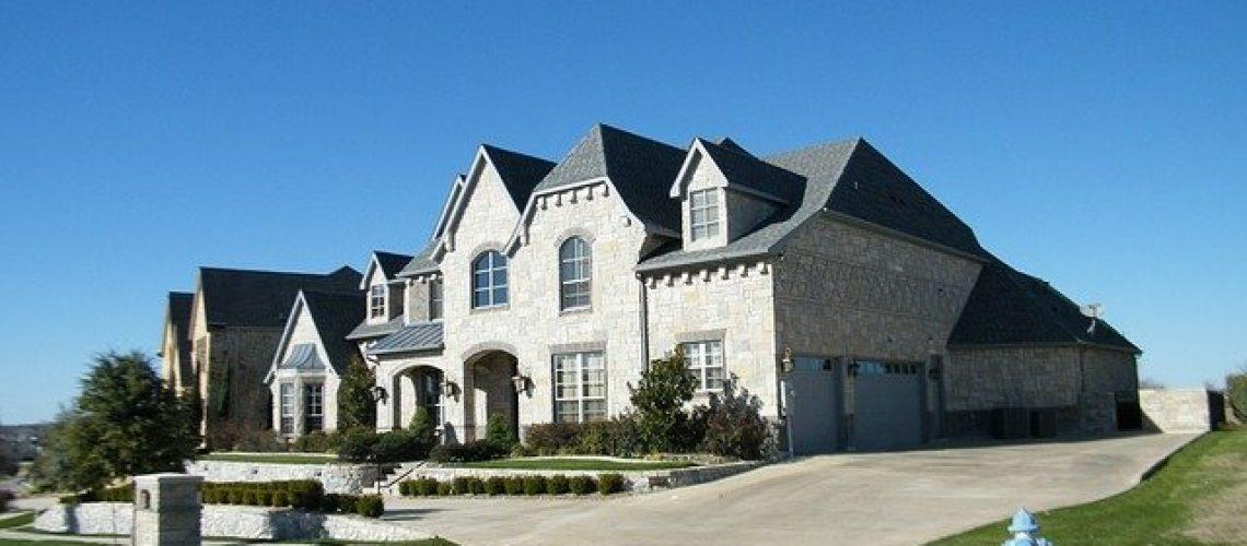 exterior of a custom home